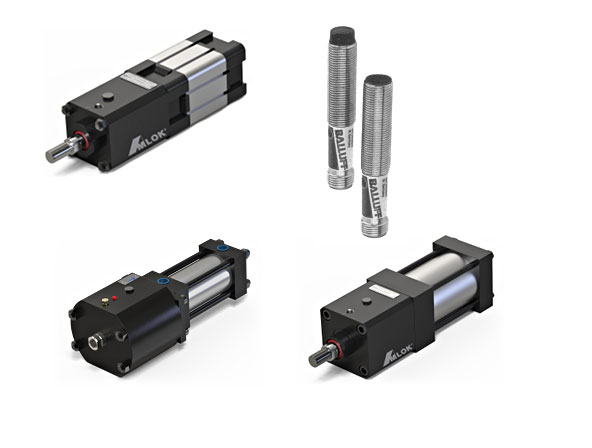 Amlok Pneumatic and Hydraulic Rod Locks